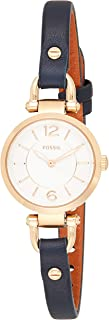 Fossil Womens Quartz Watch, Analog Display and Leather Strap ES4026