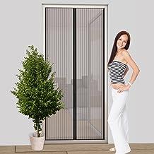 Easy Life Vliegengaas, deur, magneetgordijn, 100 x 220 cm, basic, bescherming tegen insecten, deurgordijn met magneetsluit...