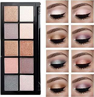 Aisonbo Eyeshadow Palette 10 Color Matte Waterproof Concealer Makeup Palette Lasting-Effect Eye Shadow (E18002)