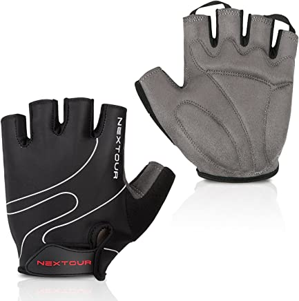 NEXTOUR Bike Gloves/Cycling Mountain Gloves Bicycle Road Half Finger Biking Gloves with Anti-Slip Shock-Absorbing Pad Breathable Men's/Women's Gloves