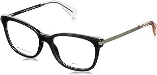 Optical frame Tommy Hilfiger Acetate Black - Matt Silver (TH 1381 FB8)