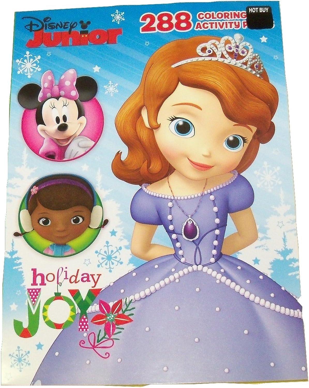 Disney Junior 288 Page coloring & Activity Book  Christmas Edition (Holiday Joy; 2014 Exclusive Printing) by Disney