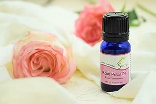 زيت روز بيتال (الورد الدمشقي) من الزيوت العطرية من اس في تي في 10 مل (1/ 3 اونصة) نقي 100% ، غير مخفف، من الدرجة العلاجية
