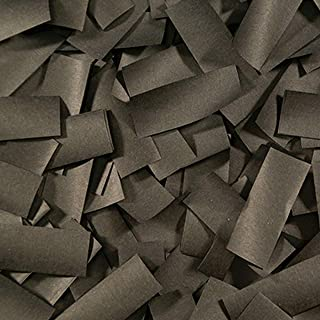 Ultimate Confetti Black Tissue Confetti-Biodegradable- Perfect for Parties-Halloween-Decorations-Birthday Party-Events