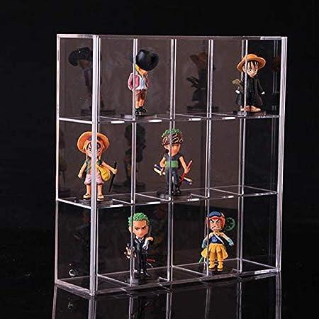 Display Case Storage Holder Clear Dustproof Protector for Model Doll Figure DIY
