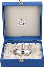 Msa Jewels Presents Pure Silver Ghee Pot Kachola with Hallmark Certified (7.5 cm X 6.25 cm, 94 GM)