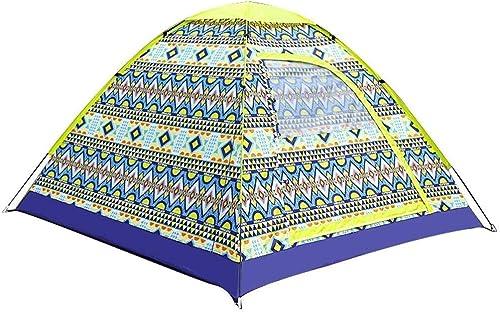 Zioaxxic Tente escamotable de Camping en Plein air pour tentes à Ouverture Rapide étanches, auvent pour 2-3 Personnes avec Sac de Transport, Facile à Installer
