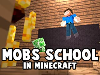 Clip: Mobs School in Minecraft
