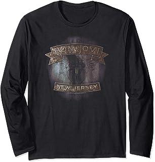 Unbekannt Bon Jovi New Jersey Langarmshirt