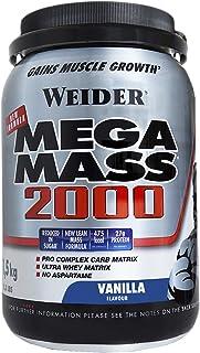 Weider Mega Mass 2000 Sabor Vainilla (1500 g). 67%