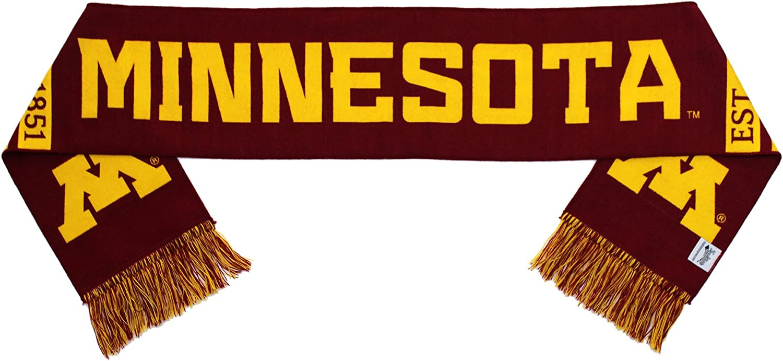 Minnesota golden Gophers Scarf  UM University of Minnesota