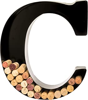 letter f wine cork holder