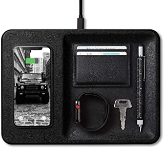 Courant Catch 3 Qi Certified Wireless Charger Station,...