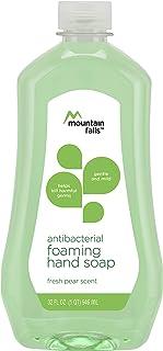 Mountain Falls Antibacterial Foaming Hand Soap Refill Bottle, Fresh Pear, 32 Fluid Ounce