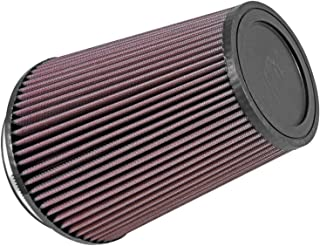 K&N Universal Clamp-On Air Filter: High Performance, Premium, Washable, Replacement Engine Filter: Flange Diameter: 5 In, Filter Height: 8 In, Flange Length: 1 In, Shape: Round Tapered, RU-2805XD