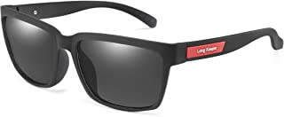 Classic Polarized Driving Sunglasses Vintage Men Women Square Fishing Glasses by Long Keeper
