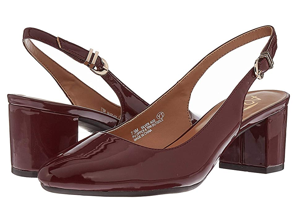A2 by Aerosoles Silver Age (Dark Red Patent) Women
