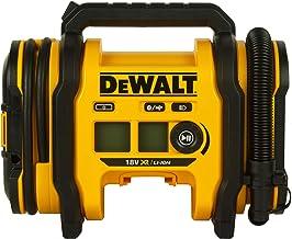 Dewalt Accu-compacte compressor (12V-aansluiting of 18V accu, 11 bar, voor fiets- en autobanden, rolstoelen, rubberboten, ...