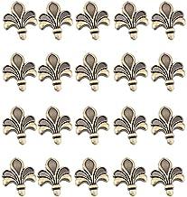 DIELUNY 20 stks Bronzen Kabinet Knoppen Trekt Vintage Knop Creatieve Bloem Dressoir Knoppen Lade Knoppen Garderobe Deur Pu...