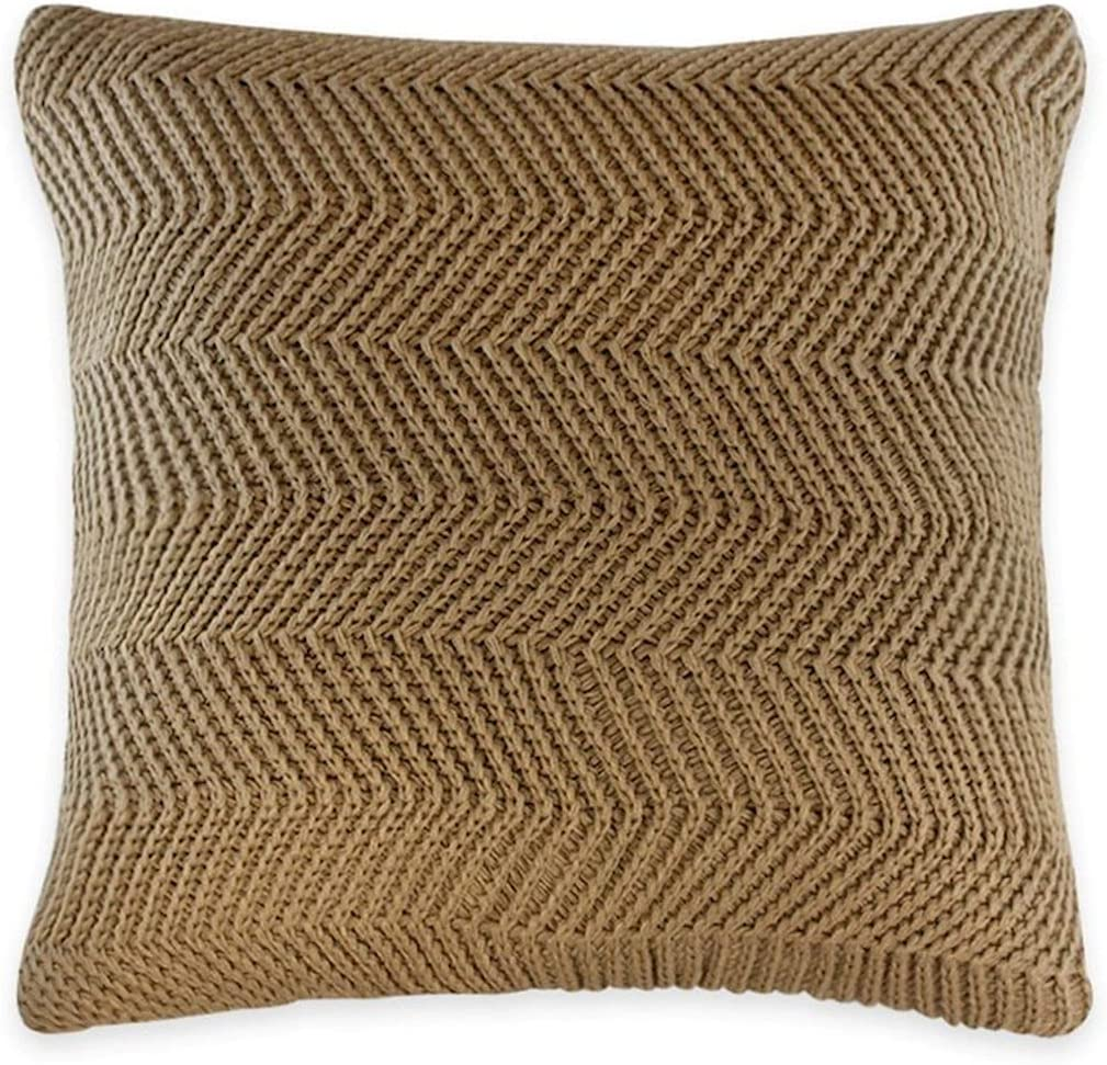 Brown with Zigzag Cheap sale Cushion Pattern Cheap super special price