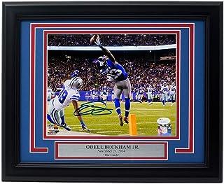 3b4009d676e Odell Beckham Jr. Signed Framed New York Giants The Catch 8x10 Photo JSA