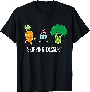 Sponsored Ad - Broccoli Carrot Vegetable Skipping Dessert Cupcake T-Shirt