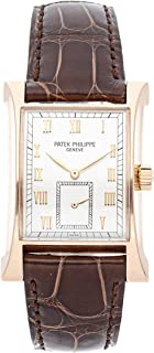 Patek Philippe Pagoda Mechanical (Hand-Winding) Silver Dial Mens Watch 5500R (Certified Pre-Owned)