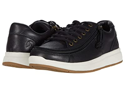 BILLY Footwear Comfort Leather Lo (Black/White) Men