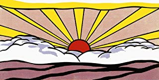 Sunrise, c.1965 Art Print Art Poster Print by Roy Lichtenstein, 40x20