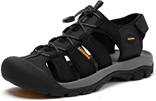 Men's Outdoor Hiking Sandal Closed Toe Sport Walking Water Shoes