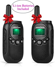 Kids Walkie Talkies Rechargeable Two-Way Radios for Adults Portable Mini 2 Way Radios with Rechargeable Battery Long Range 5 Miles 22 CH 0.5W Boys Girls for Outdoor Activities Camping