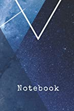 Notebook: Galaxy & Witchy Themed Blank Lined Journal/Notebook 6 x 9in