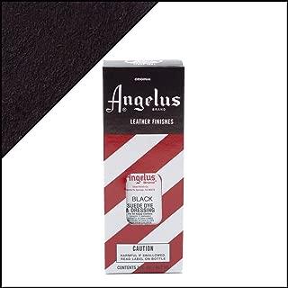 Angelus Suede Dye 3 Oz. Color - Black