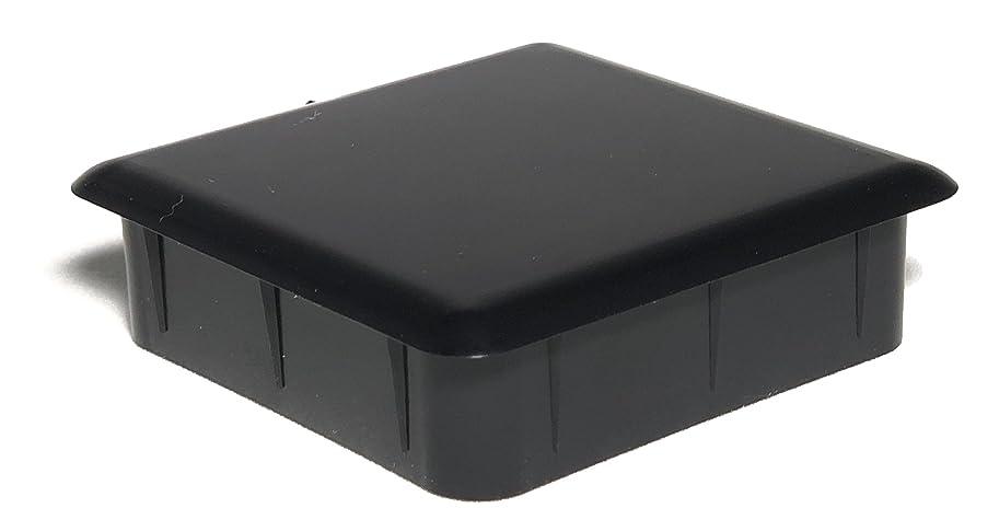 全体苦行酸化物ライトキャップ 60mm x 60mm 角パイプ用エンドキャップ (1.6mm/2.3mm兼用) 50個入 CPS60-50P