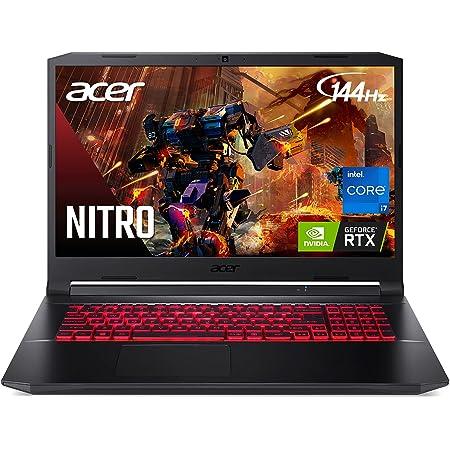 "Acer Nitro 5 AN517-54-77KG Gaming Laptop   Intel Core i7-11800H   NVIDIA GeForce RTX 3050Ti Laptop GPU   17.3"" FHD 144Hz IPS Display   16GB DDR4   1TB NVMe SSD   Killer Wi-Fi 6   Backlit Keyboard"
