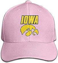 Iowa Hawkeyes-Wordmark 2002 Logo Unisex Cotton Baseball Caps Dad Hat