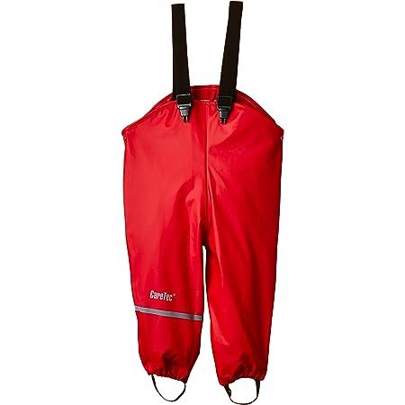 CareTec Pantalones Impermeable Unisex Niños, Rojo (Red), 74