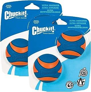 CHUCKIT! ULTRA SQUEAKER BALL (4 Pack)
