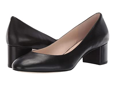 Cole Haan Lesli Pump 50 mm (Black Leather) Women