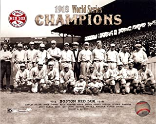 The Boston Red Sox 1918 World Series Champions 8x10 Photo. Team Picture