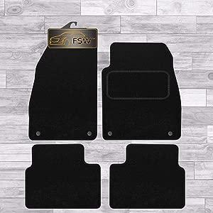 FSW Insignia Car Mats 2008-2013 Fully Tailored Classic Carpet Car Floor Mats Black