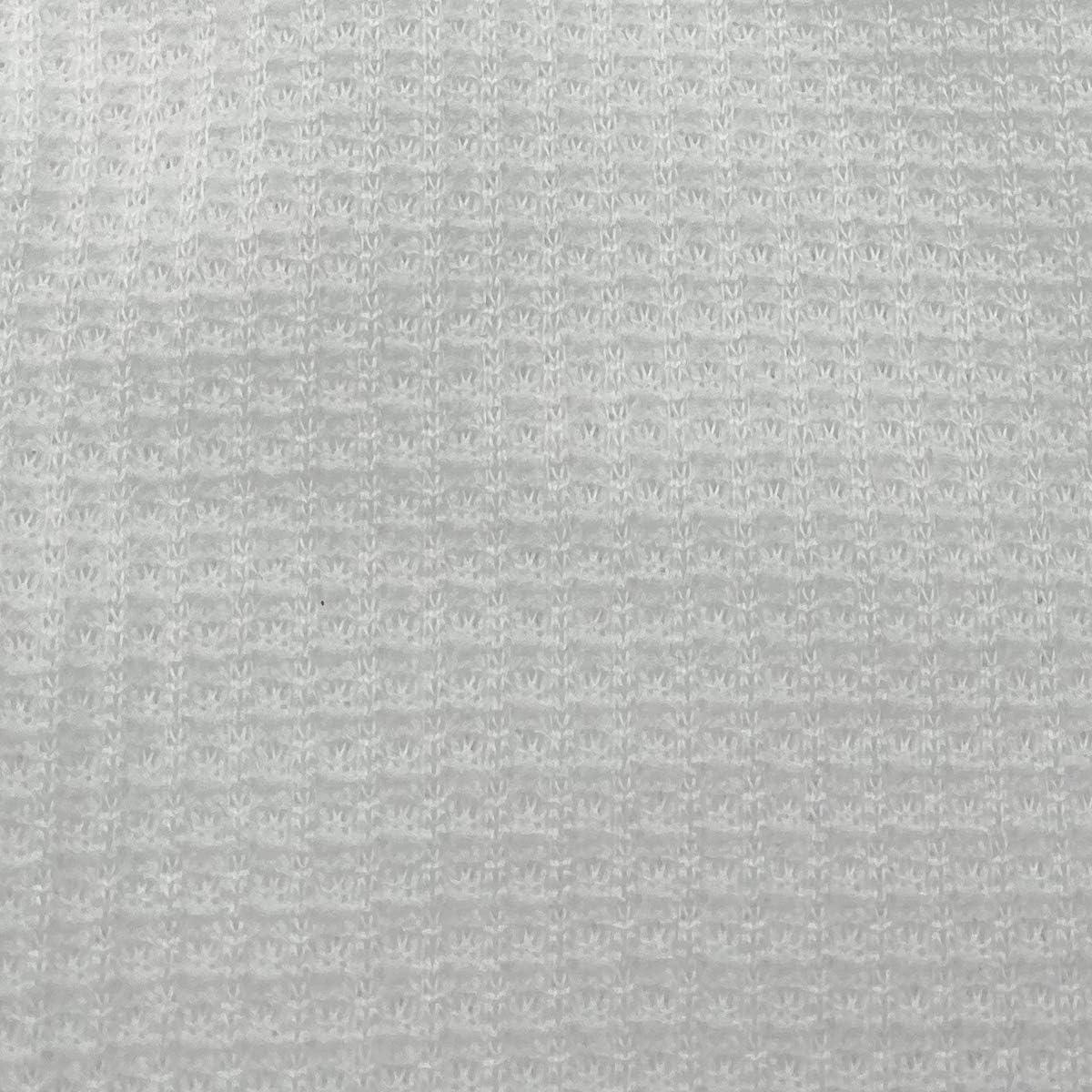 Boys 2pc Cotton Thermal Underwear Set Long Johns Waffle Knit Top Bottom Warm (White)