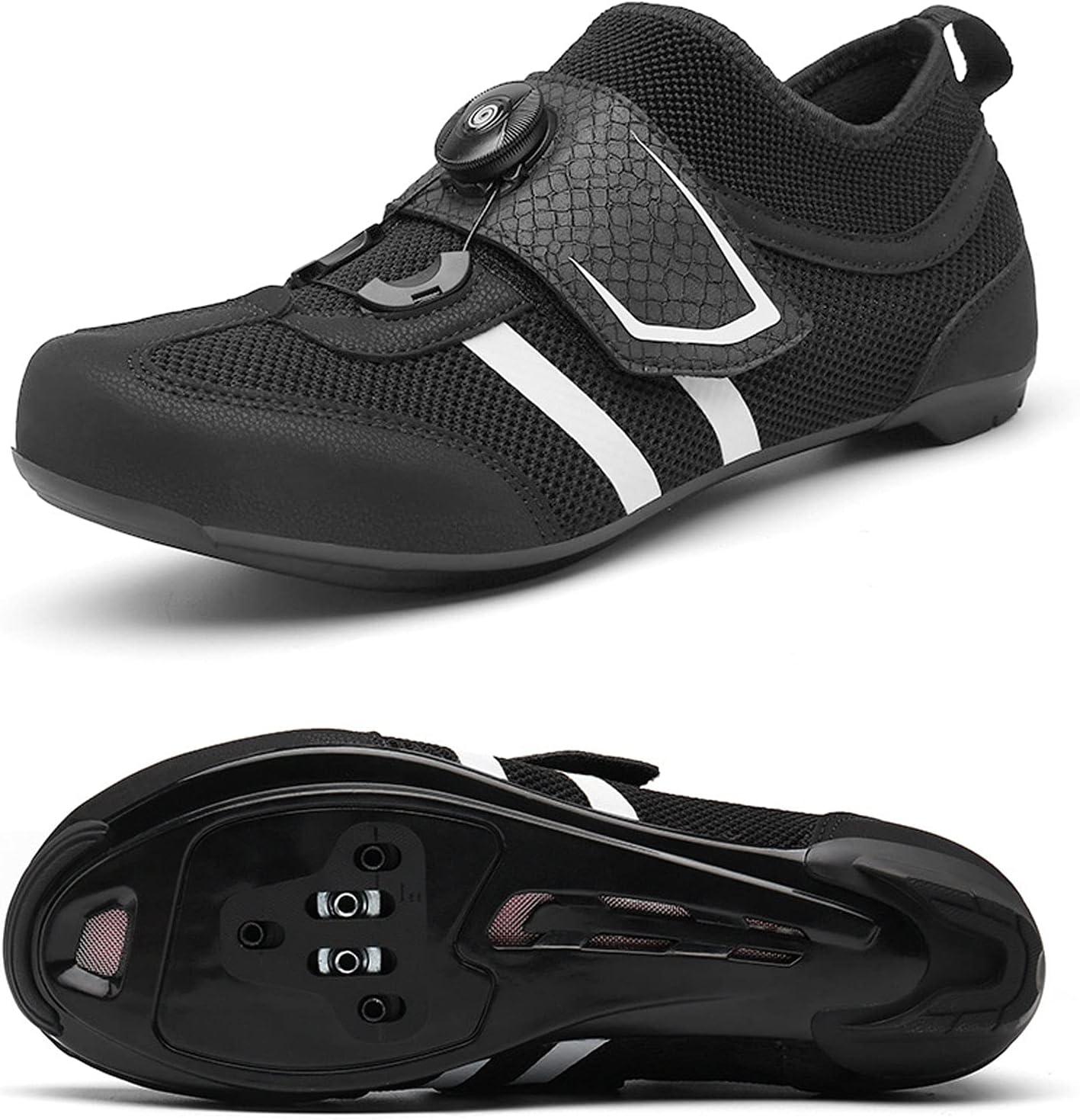 Max 74% OFF DSMGLSBB Mens Cycling Shoes Footwear Non-Slip Indianapolis Mall 39-44 Self-Lockin