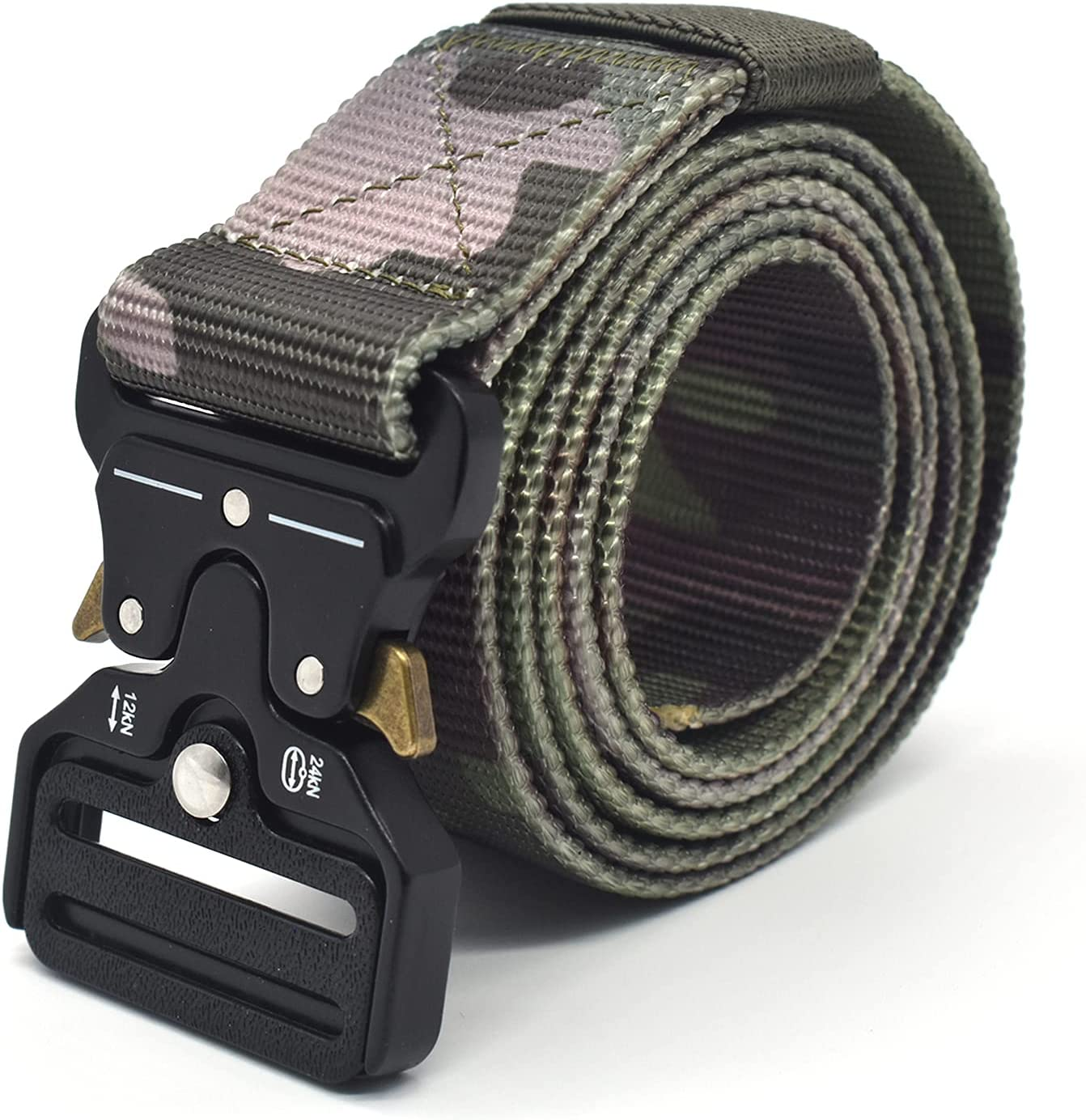 RZJZGZ Nylon Tactical Belt Selling Military Be super welcome with Quick Heavy Duty