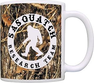 Sasquatch Research Team Funny Yeti Hunter Gag Gift Coffee Mug Tea Cup Camo