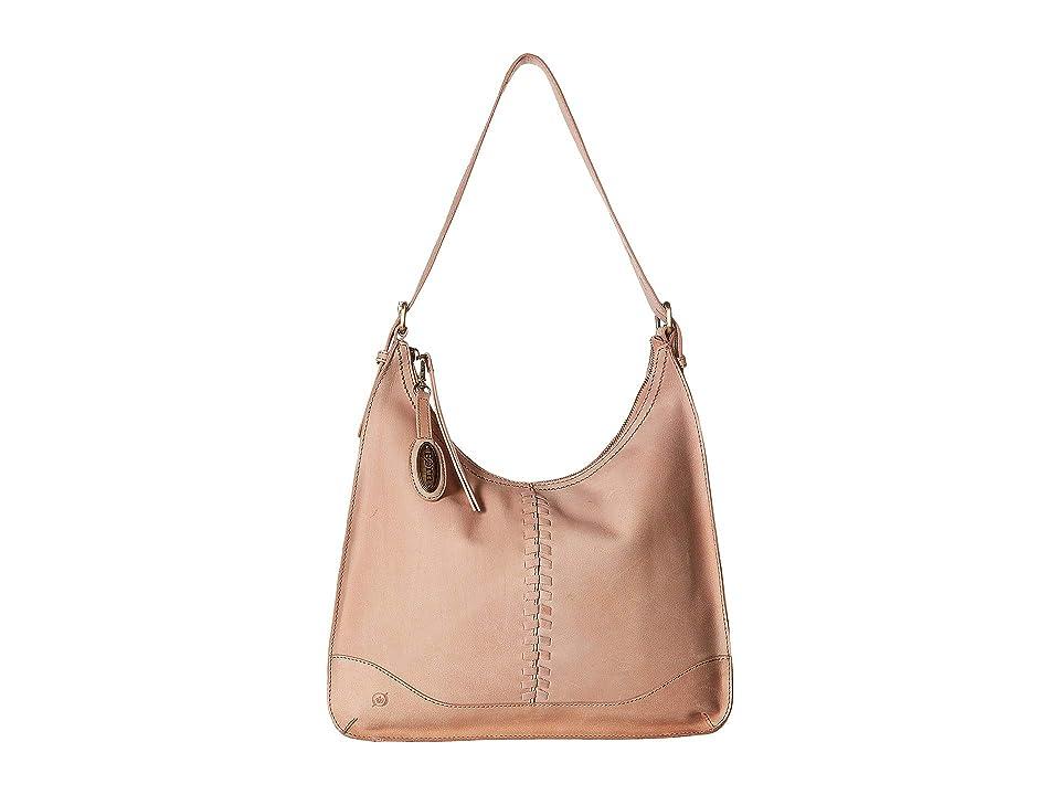 Born Prisha Hobo (Dusty Pink) Handbags