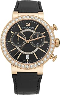 Swarovski Dress Watch For Women Analog Leather - 5055209