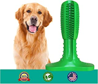 Dog Toothbrush Toy Brushing Stick for Large Breed, Dog Teeth Cleaning Toys Use Nontoxic Natural Rubber Bite Resistant for Your Lovely Dogs
