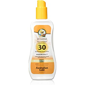 Australian Gold Spray Gel high protection, factor de protección ...