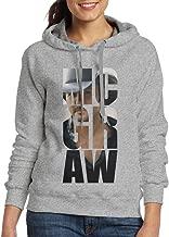 FUOCGH Women's Pullover Tim McGraw Fan Logo Hoodie Sweatshirts Ash
